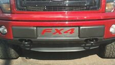 2009-2014  Ford F-150 F150 FX4 black with red  mesh Lower Bumper Grille ecoboost
