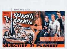 Voyage à la septième planète Poster 03 métal signe A4 12x8 aluminium