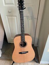 Eastman E2D Solid Cedar Top Acoustic Dreadnought Guitar