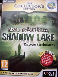 SHADOW LAKE---DISCOVER THE DARKNESS---THE COLL EDITION---HIDDEN OBJECT---PC DVD