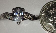 Pear Sapphire Costume Rings