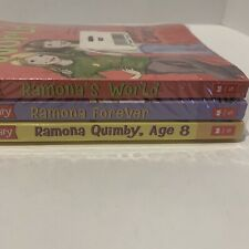 Beverly Cleary RAMONA Paperback Books Lot Of 3 Teen Girls Chapter Books New
