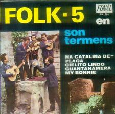 "7"" Folk 5 En Son Termens/Na Catalina De Placa (Spain)"
