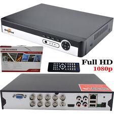 8 Channel CCTV DVR enregistreur vidéo 1080N dispositifs antimanipulation HDMI système numérique accès mobile