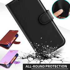 For Samsung Galaxy A10e A20 A50 Leather Case Cover With Card Wallet Holder Slot