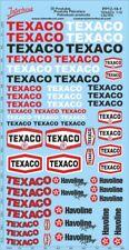 Petroleum products  12-1 Texaco/Caltex sponsors Decal 1/18 (195x100 mm) PP12-18-