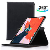 360 Rotating Leather Stand Smart Case For Apple iPad Pro 11'' 12.9'' inch 2018