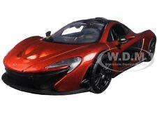 MCLAREN P1 ORANGE 1:24 DIECAST MODEL CAR BY MOTORMAX 79325