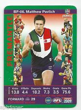 2009 Teamcoach Best & Fairest (BF-06) Matthew PAVLICH Fremantle