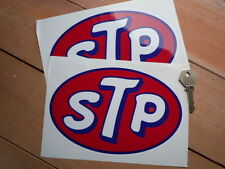 STP OIL classic  8 inch Race & Rally car stickers Dodge