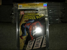 AMAZING SPIDER-MAN #568 VARIANT COVER CGC SS 9.8 3X FATHER AND SON JOHN ROMITA