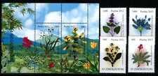 2012. Uzbekistan. Flora. Rare plants. MNH. Sc.696-700