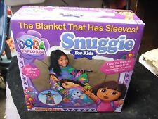 "Dora The Explorer Snuggie For Kids 48"" X 48"" Nickelodeon NIB Sleeved Blanket New"