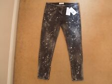 "NEW FAITH CONNEXION BLEACHED USED DISTRESSED SLIM JAPAN DENIM JEANS 27"" €520!"