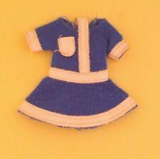 Vintage Barbie Tutti School Colors #8466 European Exclusive - Blue Dress