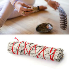 "7"" White Sage Smudge Stick Wands For House Cleansing Negativity Removal"