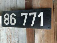 Lokschild Bahnschild Deutsche Reichsbahn