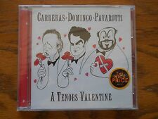 A Tenors Valentine Carreras Domingo Pavarotti CD 1999, Sony BRAND NEW SEALED