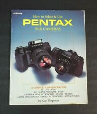 Pentax Slr Cameras Shipman A3000 K1000 Sf1 P3 Lenses Flash Accessories Book