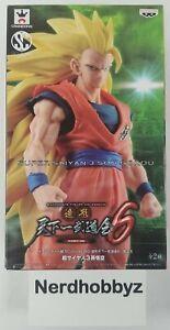 Dragon Ball Z Super Saiyan 3 Son Gokou (Goku) Statue Banpresto - New In Hand