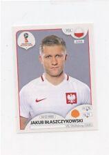 2018 PANINI STICKER FIFA WORLD CUP RUSSIA #603 JAKUB BLASZCZYKOWSKI POLAND 49427