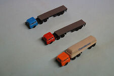 Modellbahn Spur TT  3 Fahrzeuge .VEB Plasticard DDR ---- Auswahl 7