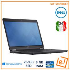 Computer Portatile Pc Notebook DELL Latitude i5 256gb SSD 14' 8GB RAM