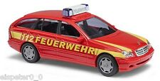 Busch 49174 Mercedes Benz C Class T Model» Fire Brigade« , H0 Car Model 1:87