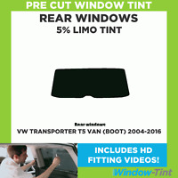 Fiat Doblo MPV 2001-2009 5/% Pre Cut Window Tint Film