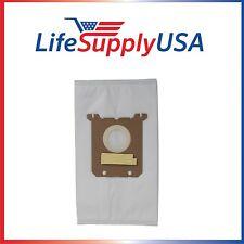 50 Pks of 5 (250) Vac Bags for Nilfisk Kent Advance Euroclean Hip Vac 1407015040