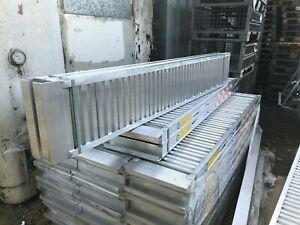 8' Aluminium Loading Ramps/Skids to Suit Ifor Williams & More - 3300kg Capacity