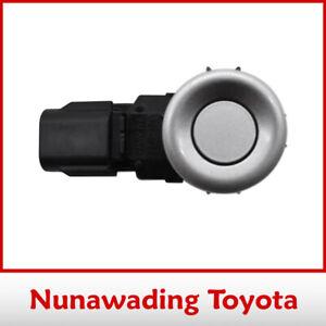 Genuine Toyota Rear Corner Ultrasonic Sensor Silver Landcruiser Tarago Previa