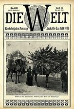 Orientalischer Hochzeitsbrauch: Abholung der Braut Historische Aufnahme von 1910
