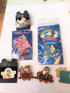 Disney Pin Lot 7 100 Years Magic WDW Sleepy Doc 2001 Dwarfs 2002 Calendar