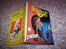ZAGOR ZENITH N.87 ORIGINALE DEL 1968 QUASI PERFETTO TIPO WEST TEX MARK RANGER