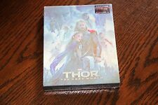Thor 2  2D/3D Blu-Ray Steelbook BluFans Limited Lenticular Edition