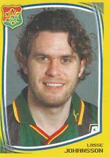 043 LASSE JOHANSSON # SWEDEN GAIS STICKER FOTBOLL ALLSVENSKAN 2000