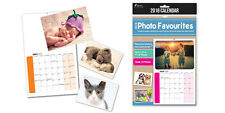 2018 Photo Favourites Calendar - Insert Your Own Photos Personalised Calendar