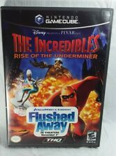 The Incredibles: Rise of the Underminer (Nintendo GameCube) Complete Tested