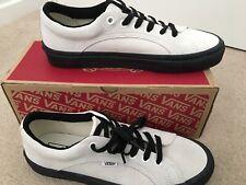 Vans Lampin Marshmallo/black Suede Leather Size UK 8 BNIB