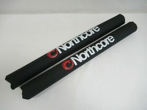 Northcore Wide Load Roof Bar Pads - Pair - 70cm - For surfboards, kayaks etc