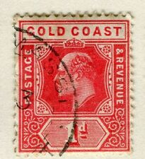GOLD COAST;   1907 early Ed VII issue fine used 1d. value