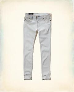 Mens Hollister Super Skinny Advanced Stretch Jeans W36 L32 RRP £39 ABERCROMBIE