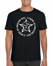 Hermanas de la Misericordia T-Shirt, Simon Pegg finales del mundo Retro 80s Adulto Camiseta Top