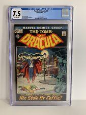Tomb Of Dracula #2 CGC 7.5 1972