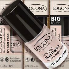 Logona Natural Nail Polish 01 Soft Rose Nagellack 4ml zertifiz Naturkosmetik Bio
