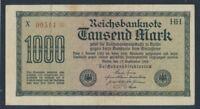 Deutsches Reich Rosenbg: 75h gebraucht (III) 1922 1.000 Mark (8590323