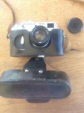 Vintage ZORKI 4K Rangefinder Camera Original Leather Case Jupiter 8 2/ 50mm Lens
