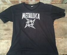 Genuine Metallica Big Day Tour 1999 Milton Keynes Bowl V Neck Black T Shirt XXL