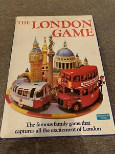The London Game 1972 Bambola Toys Ltd Vintage Board Game